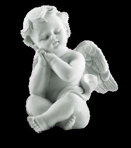 פסל תינוק מלאך
